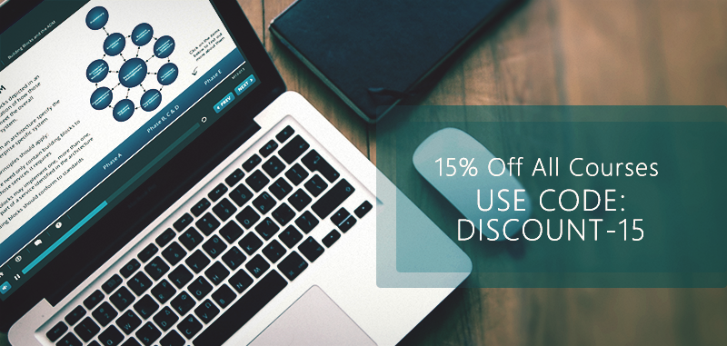 15% Course Discount