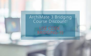 ArchiMate 3 Bridging Course Discount!