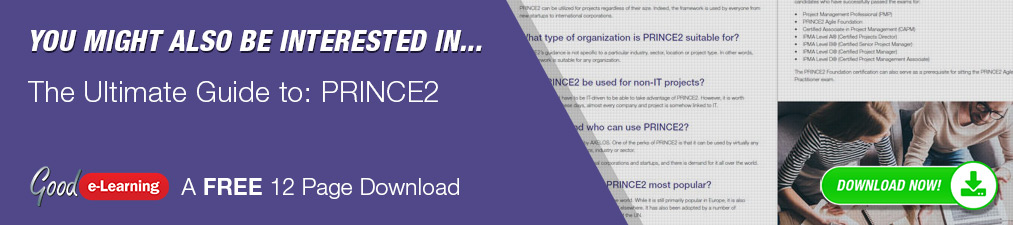 You might also be interested in The Ultimate Guide to: PRINCE2   A FREE 12 Page Download.  DOWNLOAD NOW!