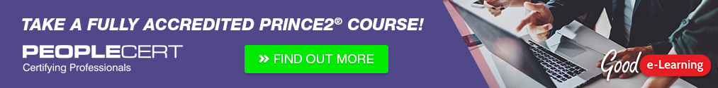 Take a fully accredited PRINCE2 course! - Find out more